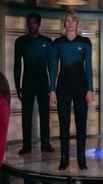 Enterprise-D science replacement officers
