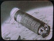 Explorer S-55 in orbit