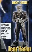 GE Fabbri Star Trek Figurine Collection Jem'Hadar warrior