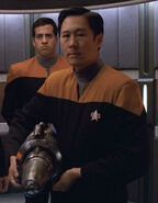 USS Voyager ops officer 72