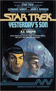 Yesterdays Son audiobook cover, 1988
