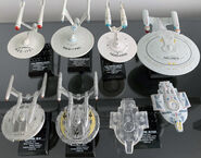 F-Toys Star Trek starship set 1
