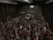 Shuttlehangar voller Klingonen