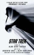 Star Trek (novel) mass-market paperback cover
