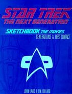 Star Trek The Next Generation Sketchbook The Movies solicitation cover