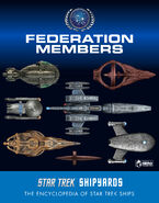 Star Trek Shipyards Federation Members final cover