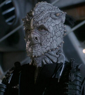 Ikat'ika, a Gamma Jem'Hadar in 2373