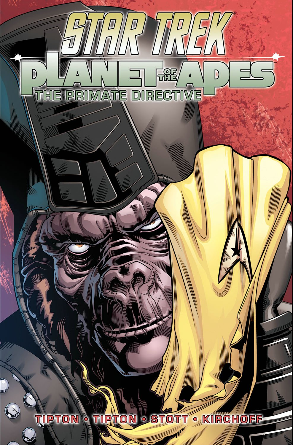 Star Trek - Planet of the Apes: The Primate Directive (omnibus)