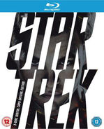 Star Trek 3 disc Blu-ray Region B cover