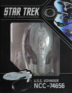 Star Trek Official Starships Collection USS Voyager repack 5
