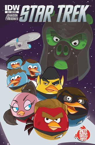 Subscribers' Angry Birds cover
