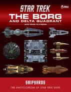 Star Trek Shipyards The Borg and Delta Quadrant Akritirian to Krenim final cover