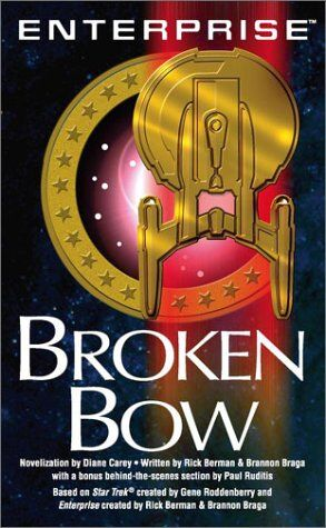 Cover of the novelization of Broken Bow