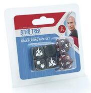 Star Trek Adventures - Klingon Dice Set