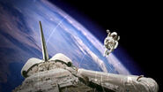 Atlantis with spacehab