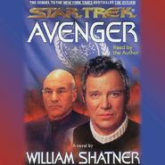 Avenger audiobook cover, digital edition
