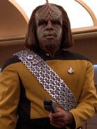Hologramm von Worf 2369 Moriarty