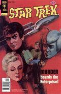 Murder Boards the Enterprise comic