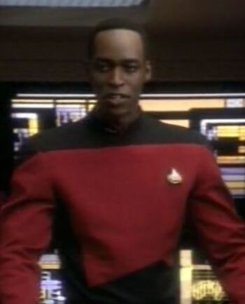 ...as the USS Odyssey's first officer