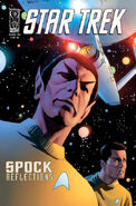 Spock Reflections issue 2 RI cover