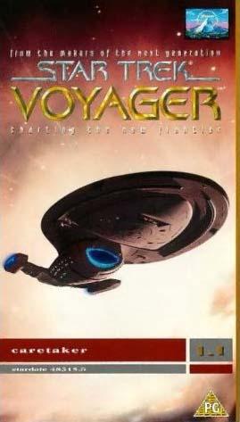 VOY Season 1 UK VHS
