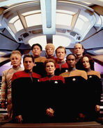 Voyager équipage saison 1 avec Kes