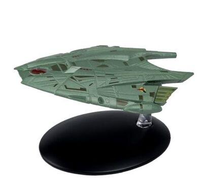 Raumschiffsammlung 71 Goroths klingonisches Transportschiff.jpg