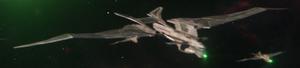 Romulan warbird, 2399