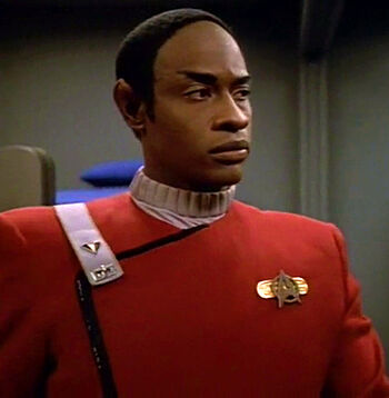 Ensign Tuvok in 2293