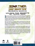 Deep Space Nine Technical Manual back cover