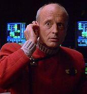 Enterprise-B communications officer