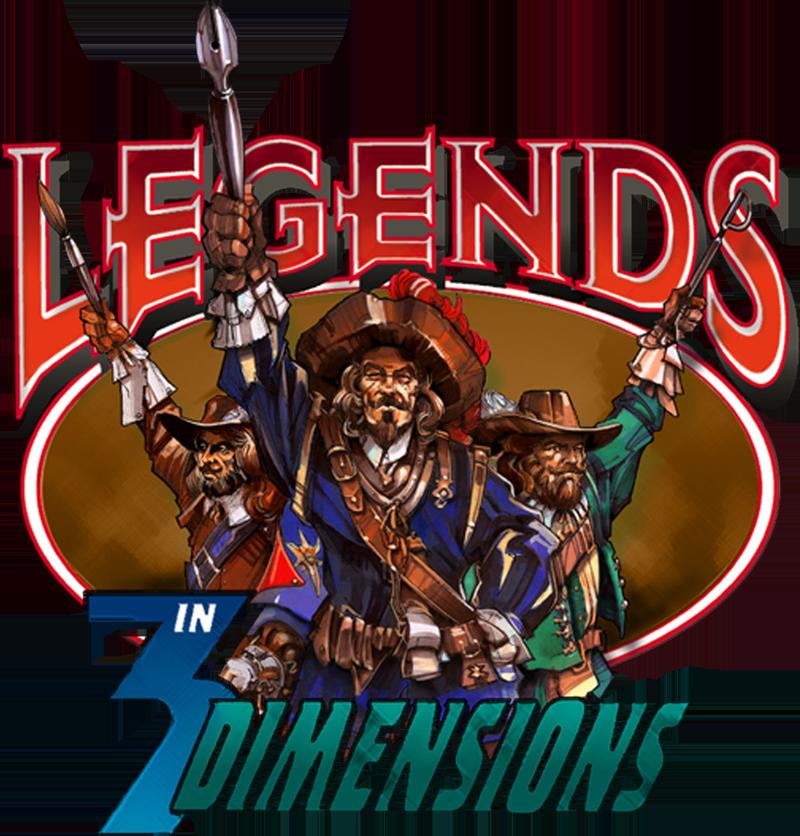 Legends in 3 Dimensions