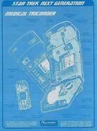Playmates Toys medical tricorder technical blueprint