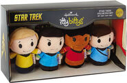 2016 Hallmark Star Trek 50th Anniversary Itty Bittys Collectors Set