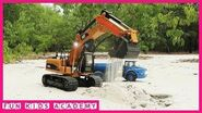 Construction Vehicle Excavator Videos for Children Trucks for Kids