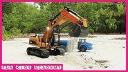 Construction Vehicle Excavator Videos for Children Trucks for Kids