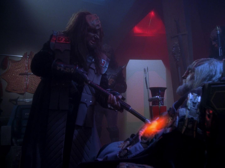 Klingonischer Schmerzstock