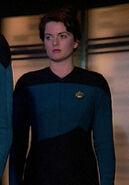 Enterprise-D science replacement officer