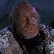 Klingon commandant