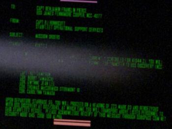 Bobby Yamauchi on a Starfleet Command order