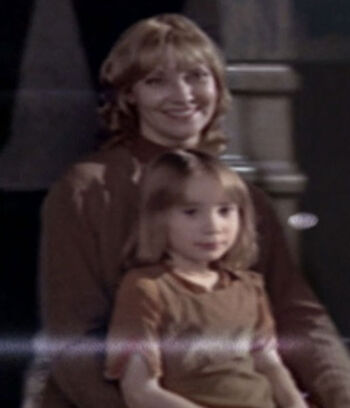 Vera with her daughter Bernadette Fuller
