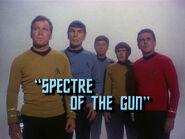 3x01 Spectre of the Gun title card