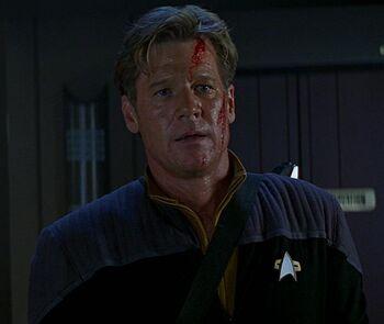 Lieutenant Daniels in 2373