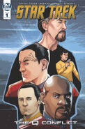 Star Trek The Q Conflict issue 1 cover B