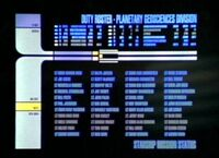 USS Voyager duty roster, Planetary Geosciences Division