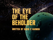1x15 The Eye of the Beholder title card