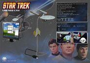 Dream Cheeky USS Enterprise USB Webcam ad