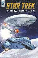 Star Trek The Q Conflict issue 3 cover B
