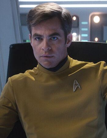 Captain James T. Kirk in 2263