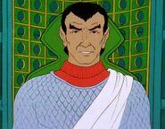 Romulan commander, 2270